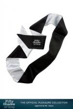 Bandeau Luxe - Fifty Shades Of Grey : Un luxueux bandeau en satin pour occulter la vue.