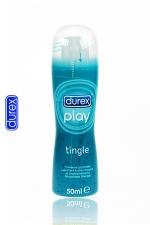 Durex Play Frissons : Gel lubrifiant intime Durex à effet frissons: fraîcheur intense, chatouillements et nouvelles sensations.