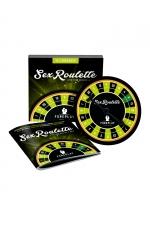 Sex roulette Foreplay : Mettez un peu de piment dans votre vie amoureuse en jouant à la sex roulette et ses 24 défis érotiques.