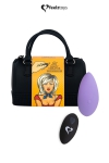 Stimulateur télécommandé Panty Vibe violet - FeelzToys