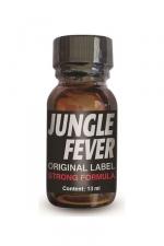 Poppers Jungle Fever : Un poppers aux effets intenses, à base d'isopropyle, en flacon concentré de 13ml.