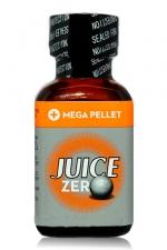 Poppers Juice  zero 24 ml : Poppers hybride pour des sensations max et confort accru avec fermeture Mega Pellet.