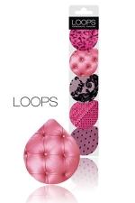 Préservatifs Pinky -  Loops : Avec la collection Pinky de Loops, le préservatif devient un accessoire Glamour.